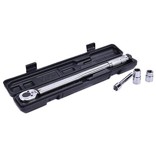 Preisvergleich Produktbild 1/2 Zoll Drehmomentschlüssel 28-210NM Steckschlüssel Set mit 125mm Verlängerung automatisch