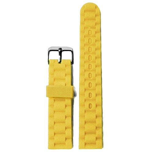 20-mm-mango-giallo-in-silicone-gomma-uomo-donna-cinturino-cinghie
