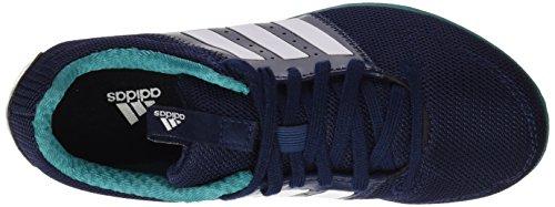 adidas Allroundstar J, Chaussures de running entrainement mixte bébé Multicolore(navy/white/green)
