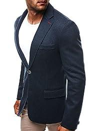 OZONEE Herren Sakko Business Anzug Anzugjacke Y-TWO 5108