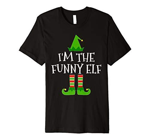 (I 'm The Funny Elf passenden Familien Gruppe Weihnachten T Shirt)