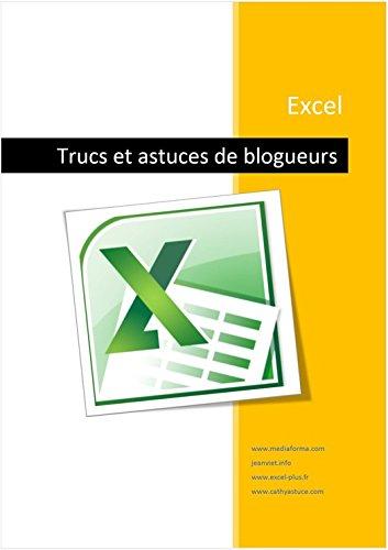 Couverture du livre Excel - Trucs de blogueurs