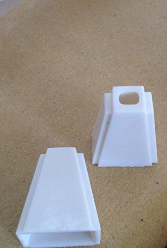12pezzi in plastica bianca corda nappa tapparelle o Shades