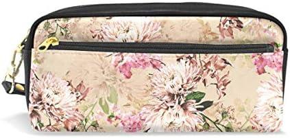 Vintage Daisy Cuir Stylo Trousse Maquillage Sac pochette à maquillage de voyage Sac d'école B07JKP48FY | à Gagnez Un Haut Admiration