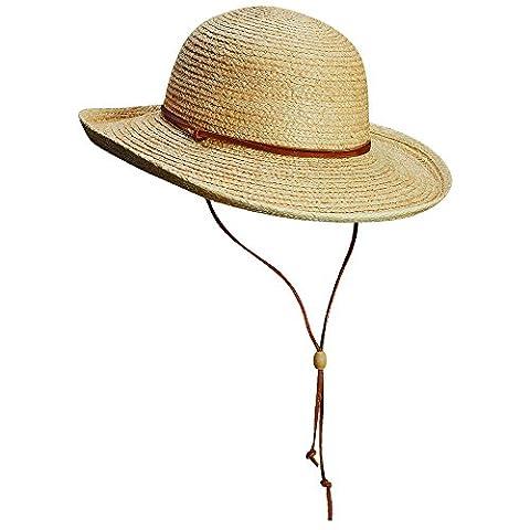 Scala Women's UPF 50 Plus UV Hat - Natural, Medium/57