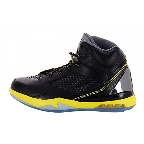 - Basket Air Flight Remix Noir Jaune 679680 070