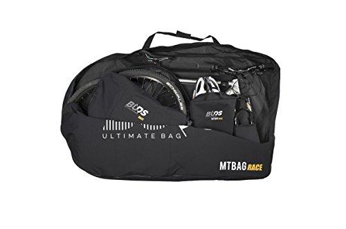 Buds-Sports - Bolsa de bicicleta MTBag Race - Bolsa de transporte para Bicicleta de montaña sin desmontar la rueda trasera