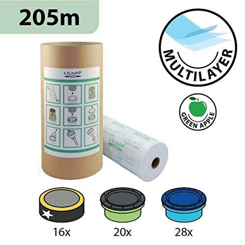 Recarga compatible multicapa con tratamiento inodoro para Sangenic Tommee Tippee y Angelcare para pañales...