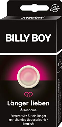 Billy Boy Länger Lieben Kondome, Transparent, 6er Pack