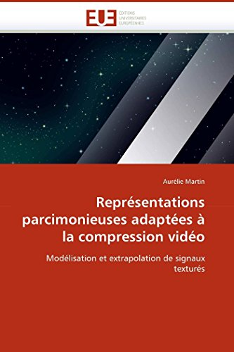 Représentations parcimonieuses adaptées à la compression vidéo par Aurélie Martin