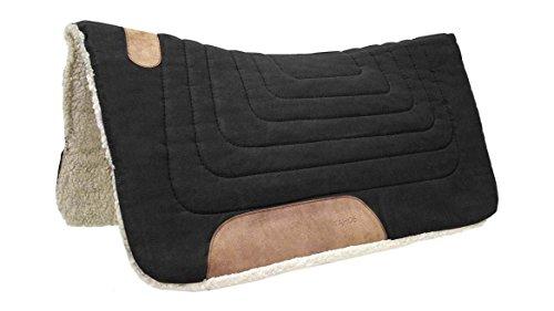 Tahoe Tack Konturenschnitt Leinwand Sattel Pad 81,3x 86,4cm -
