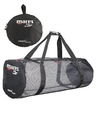 New Mares Cruise Mesh Duffel Gear Bag for Scuba Diving & Snorkeling by Mares