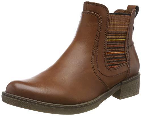 Tamaris Damen 1-1-25012-23 Chelsea Boots, Braun (Cognac 305), 37 EU