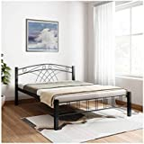 @home by Nilkamal Nimbo King Size Bed (Black)