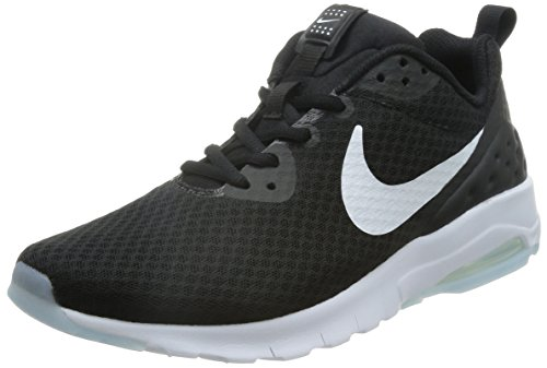 Nike Air Max Motion LW Laufschuhe, Schwarz (Black/White_010), 44 EU (Nike Air Max Motion)