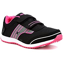 Sparx Women Black Pink Mesh Running Shoes -SX0092LBKPK