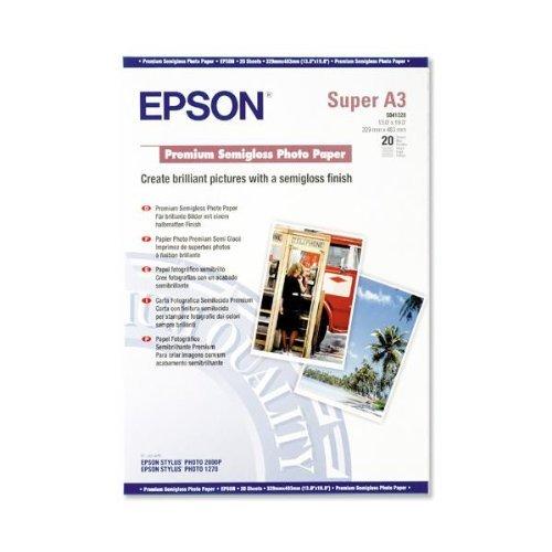 Epson S041328Semiglossy Photopaper A3+ 2043x 48,3cm (A3Plus) Fotopapier -