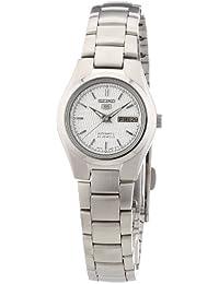 Seiko Damen-Armbanduhr XS Seiko 5 Analog Automatik Edelstahl SYMC07K1