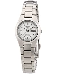 Seiko Damen-Armbanduhr Analog Automatik Edelstahl SYMC07K1