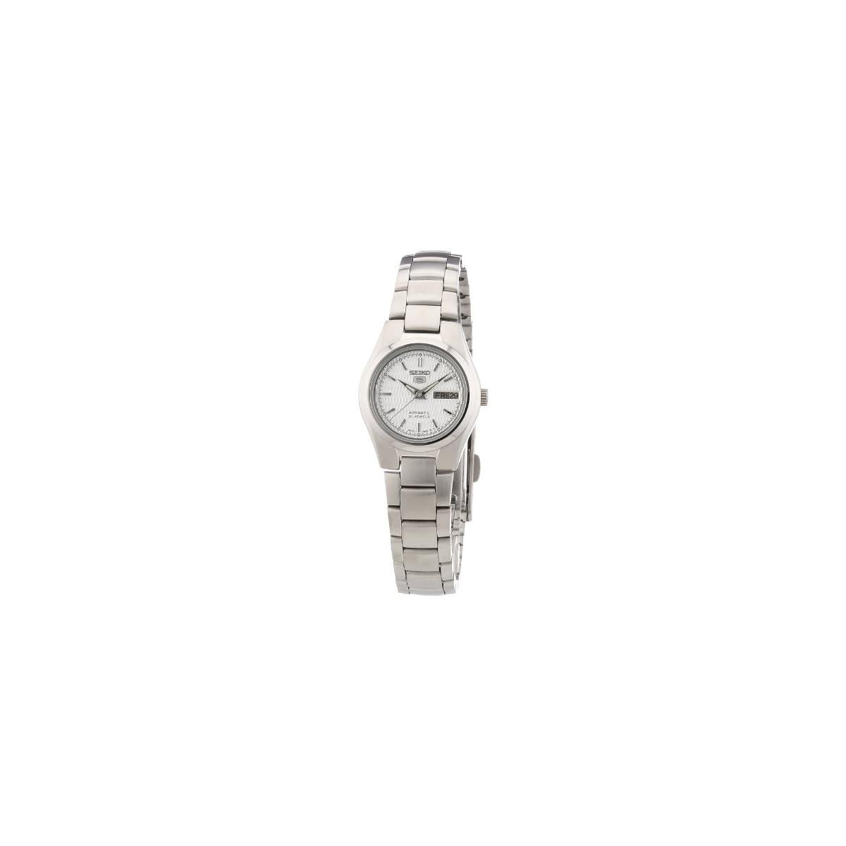41XbfRGebaL. SS1200  - Seiko Reloj Analógico Automático para Mujer con Correa de Acero Inoxidable - SYMC07K1