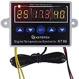 amiciKart -50~110C Intelligent Digital Thermostat AC 220V 1500W Digital Temperature Controller Switch
