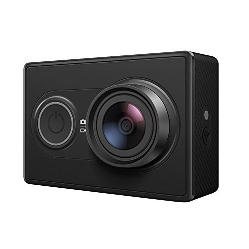 YI Action Camera, Videocamera Action Cam HD, 1080p / 60 fps, 720p / 120 fps, Fotocamera Digitale 12 MP, Wifi, Garanzia Italia, Nera