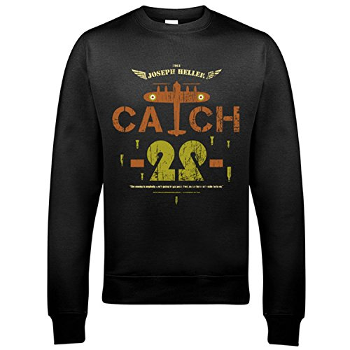 5010-catch-22-uomo-sweatshirt-joseph-heller-wwii-second-world-war-john-yossarian-b-25-bombardier-256
