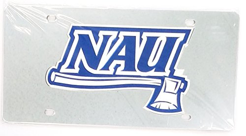 Wincraft Northern Arizona University S10757 Acryl-Kennzeichen -