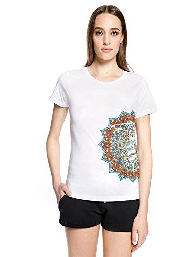 Trussardi action t-shirt donna, m, bianco