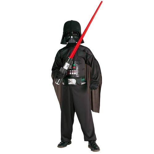 Kinder-Kostüm Darth Vader, Größe L