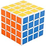 Coeus 4x4x4 Puzzle Cube White Puzzle Speed Cube Rubiks Cube by Coeus