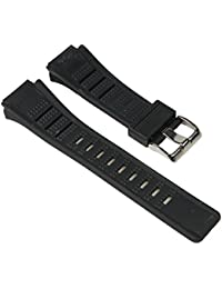 Calypso Ersatzband Uhrenarmband Kunststoff Band Schwarz passend zu K5516