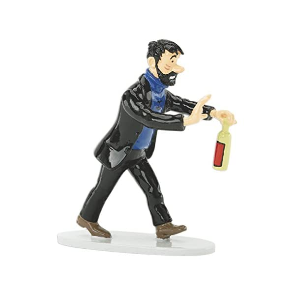 PIXI Figura Moulinsart: Tintín Haddock Botella de Whisky - 46217 (2005) 1