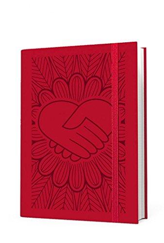 Agenda settimanale tascabile rossa 2018 14x9 cm