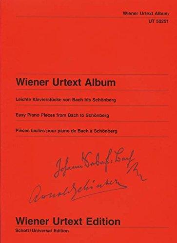 Wiener Urtext Album: Leichte Klavierstücke von Bach bis Schönberg - 800522002120