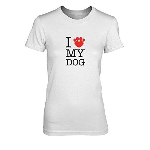 n T-Shirt, Größe: XL, Farbe: weiß (Hundebesitzer Kostüme)