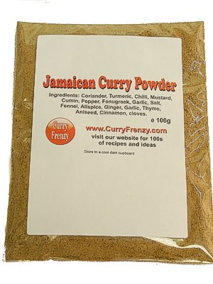 100g Jamaican Curry Powder by Pilkington Warner Ltd