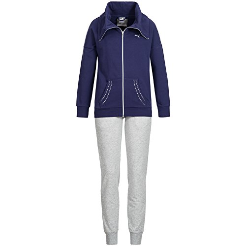 PUMA Damen Sweat Anzug Sportanzug Suit 837154-02