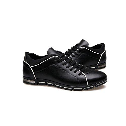 LYZGF La Primavera E L'autunno Degli Uomini Di Grandi Dimensioni Moda Casual Scarpe Sportive Leggere Black