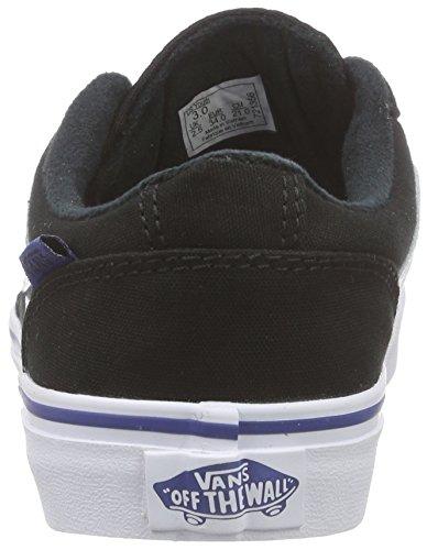 Kinder Sneaker Vans Chapman Stripe Sneakers Jungen Schwarz (varsity/black/blue)