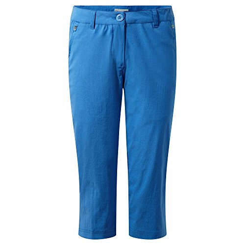 Craghoppers Damen Kiwi Pro Stretch Crops 40 Blue (Bluebell) -