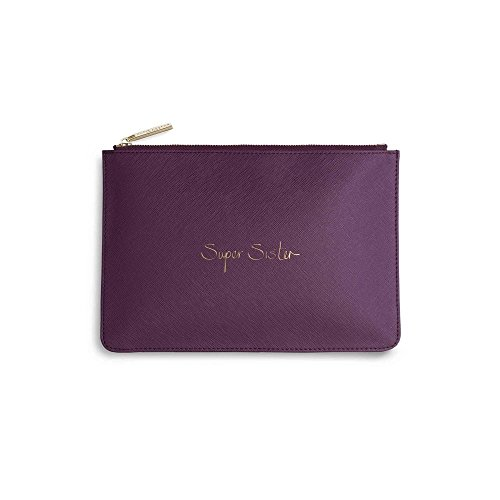Katie Loxton - Perfect Pouch - Super Sister - Purple Berry