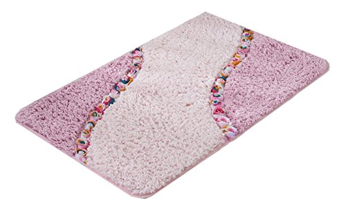 Rabatt Geflochtene Teppiche (Rose rutschfeste elegante Home Kitchen Schlafzimmer Bad Dekor Rug Doormat)