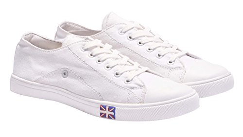 Boysons white trending casual sneakers shoes