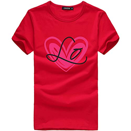 Mutter Kinder Kleidung, Dasongff Matching Outfits Baby Outfit Mädchen Familien Kleidung Partnerlook Familie Mama Kind Brief Drucken Kurzarmshirt T-Shirt Tops -