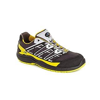 Aboutblu 5034900la 43Estoril Low S1P Work Shoe, Size 43, Yellow