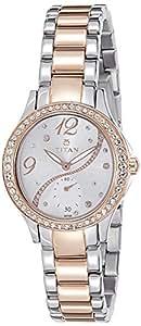 Titan Analog Silver Dial Women's Watch -NK95024KM01