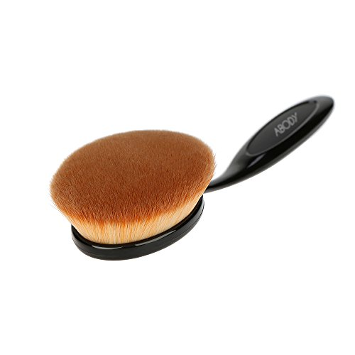 Abody 1St Foundation Brush Profi Kosmetik Pinsel Oval Gesichtspinsel Make Up Bürste (Klein, Mittler, Große) - 5