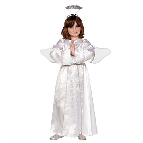 Engel Engelkostüm mit Flügel und Heiligeschein Kinderkostüm ()