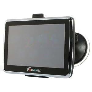 NavGear PX 4663–904PDA (12,7cm (5pouces) Écran tactile, TMC, Europe de l'Ouest + Est, Bluetooth) Noir
